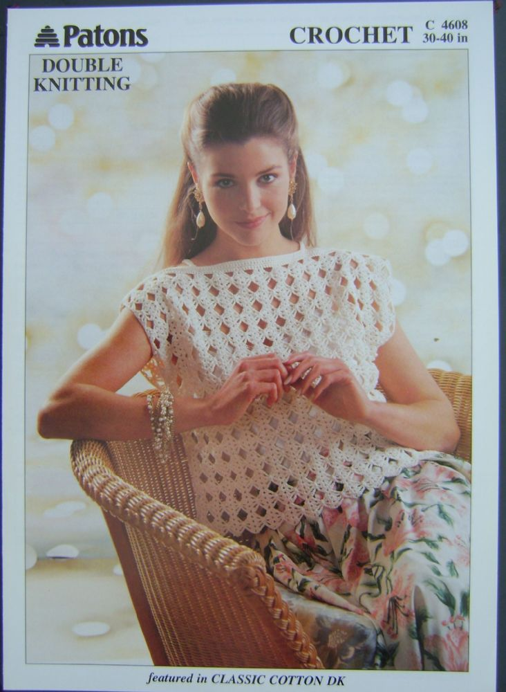 Patons Knitting Pattern 4608